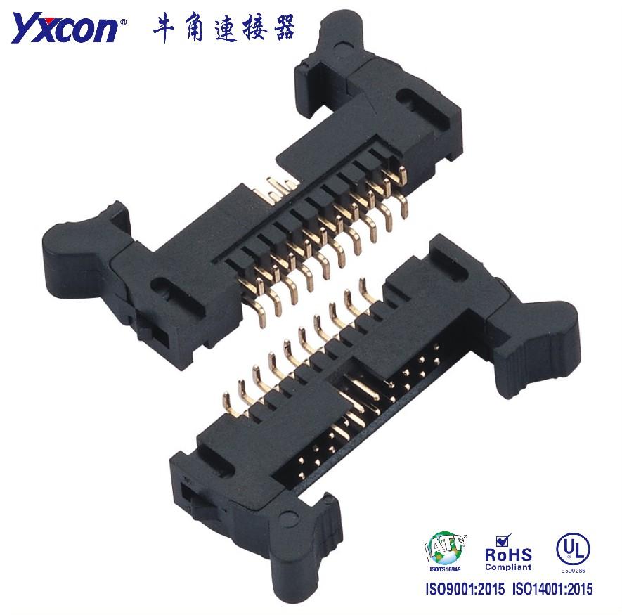2.0牛角连接器 SMT PA6T