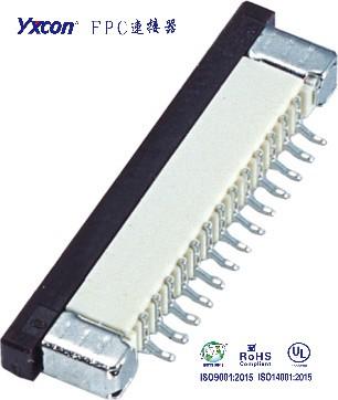 1.0FPC 卧式SMT系列  带锁 上接