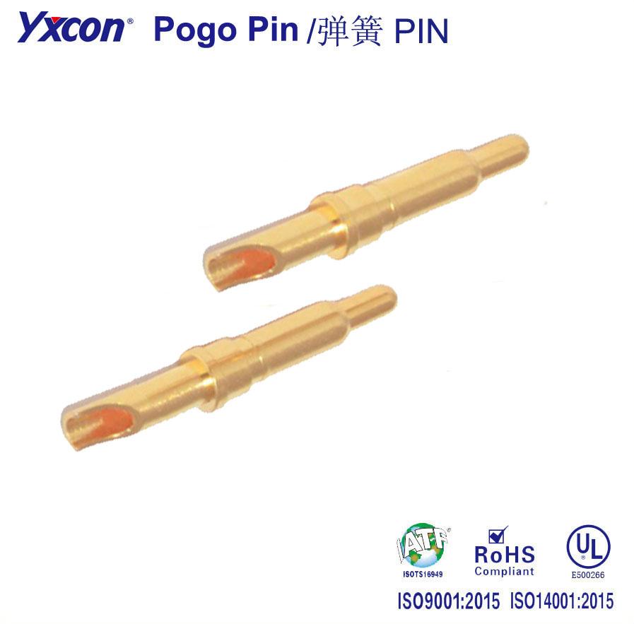 焊线式  Pogo Pin