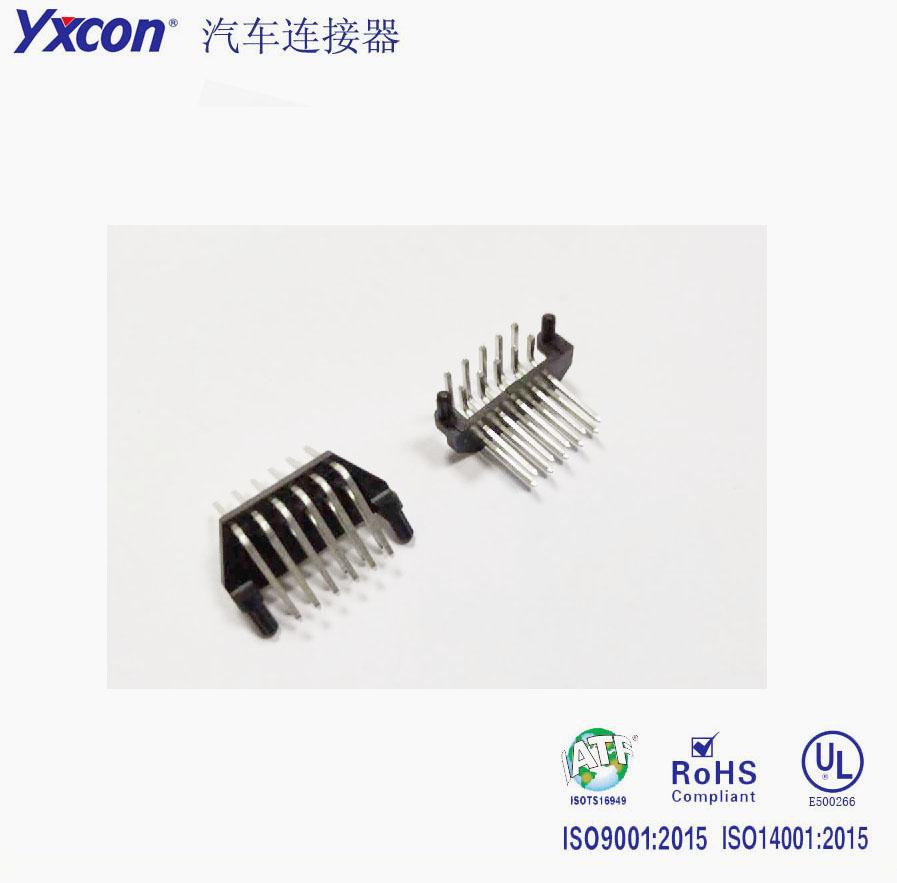 2.5mm间距  10P  90度 汽车连接器