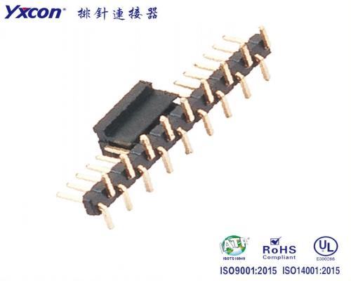 2.50排针   单排针    SMT CAP+卷装 PA6T/专业化定制/LED灯连接器/音响连接器