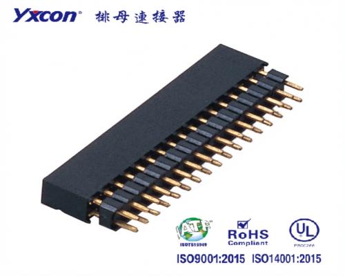 2.0加高排母  双排 2X15P 180度  Y型  PA6T/专业化定制/显示屏/医疗连接器