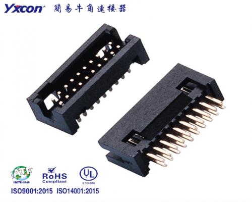 1.27简牛 塑高5.7 配排母 180度 PA6T/应用于电脑/电表/电视/家电/显示屏/医疗/新能源汽车等各种板对板连接
