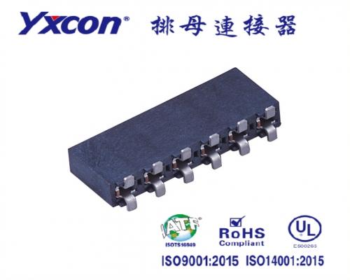 5.08排母 塑高8.9  单排  SMT  U型 镀锡/镀金 LCP/专业化定制/LED灯连接器/音响连接器