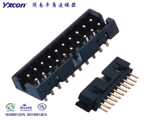 2.0莫仕简牛 塑高6.4 180度 PA6T/应用于电脑/电表/电视/家电/显示屏/医疗/新能源汽车等各种板对板连接