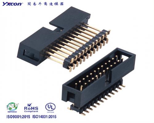 2.54加高简牛 SMT PA6T/应用于电脑/电表/电视/家电/显示屏/医疗/新能源汽车等各种板对板连接