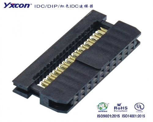 2.0IDC  系列  三件式  带凸点  弹片端子/校园智能/智能识别/电脑/显示屏/线对板连接器