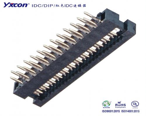 2.0DIP  系列  两件式 压排线/校园智能/智能识别/电脑/显示屏/线对板连接器