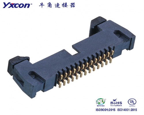 1.27牛角连接器 SMT 短耳 LCP/应用于电脑/电表/电视/家电/显示屏/医疗/新能源汽车等各种板对板连接