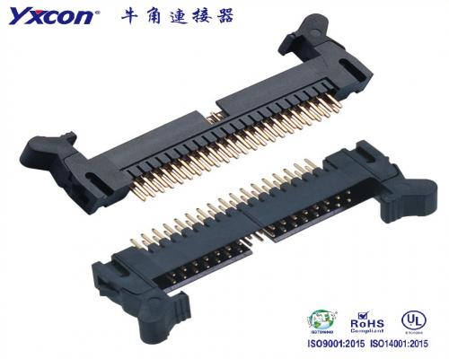 2.0牛角连接器 180度 PA6T/专业化定制/电视/家电连接器