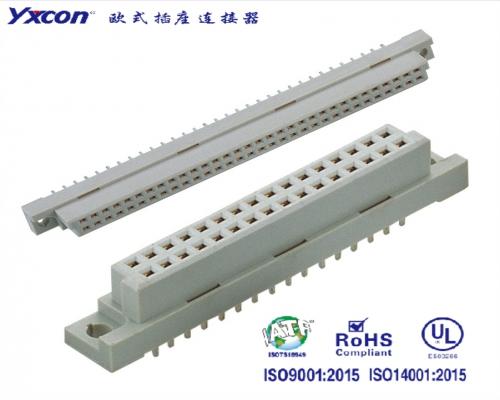 2.54欧式插座  双排  180度系列  母头/可按照客户需求开模定制/高性能连接器/