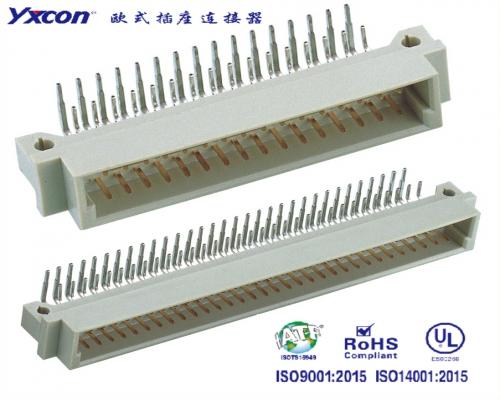 2.54欧式插座  三排  90度系列  公头/可按照客户需求开模定制/高性能连接器/