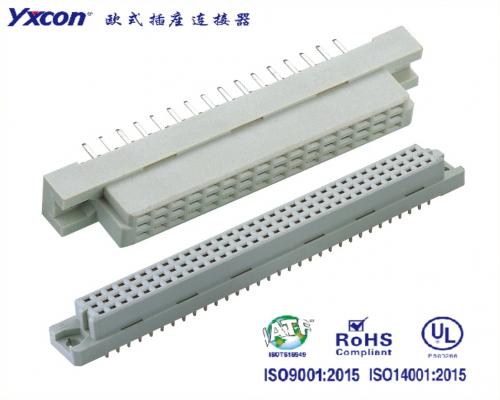 2.54欧式插座  三排  180度系列  母头/可按照客户需求开模定制/高性能连接器/