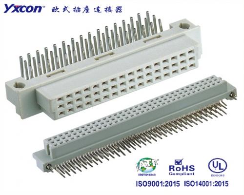 2.54欧式插座  三排  90度系列  母头/可按照客户需求开模定制/高性能连接器/