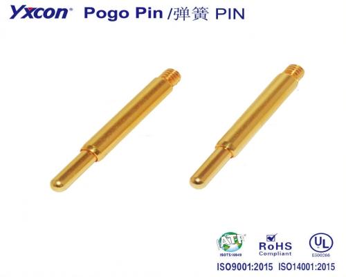 螺纹式  Pogo Pin/可按照客户需求开模定制/高性能连接器/大电流连接器