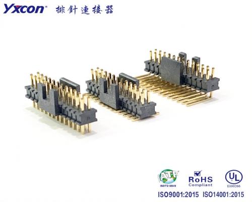 1.27排针式简牛 防反插 PA9T 耐高温/专业化定制/显示屏/医疗连接器