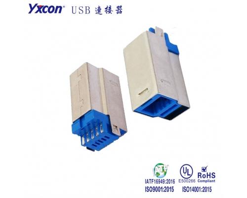 USB3. BM 蓝胶 镀金 3U